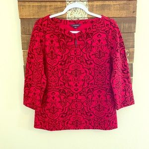 Lands end blouse size medium petite